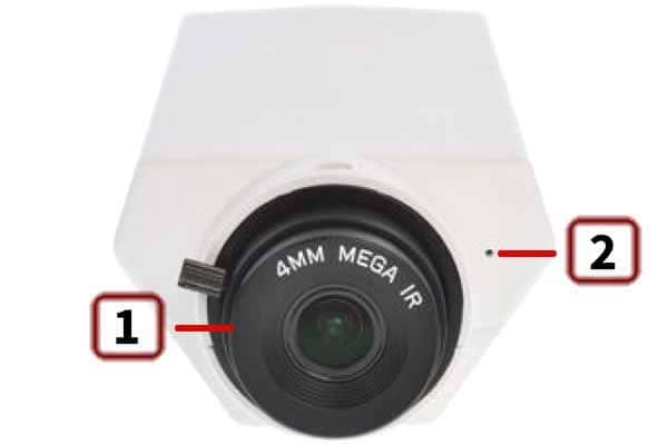 D-Link DCS-3010 – передняя панель