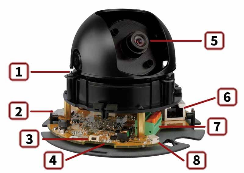 D-Link DCS-6112 - интерфейс