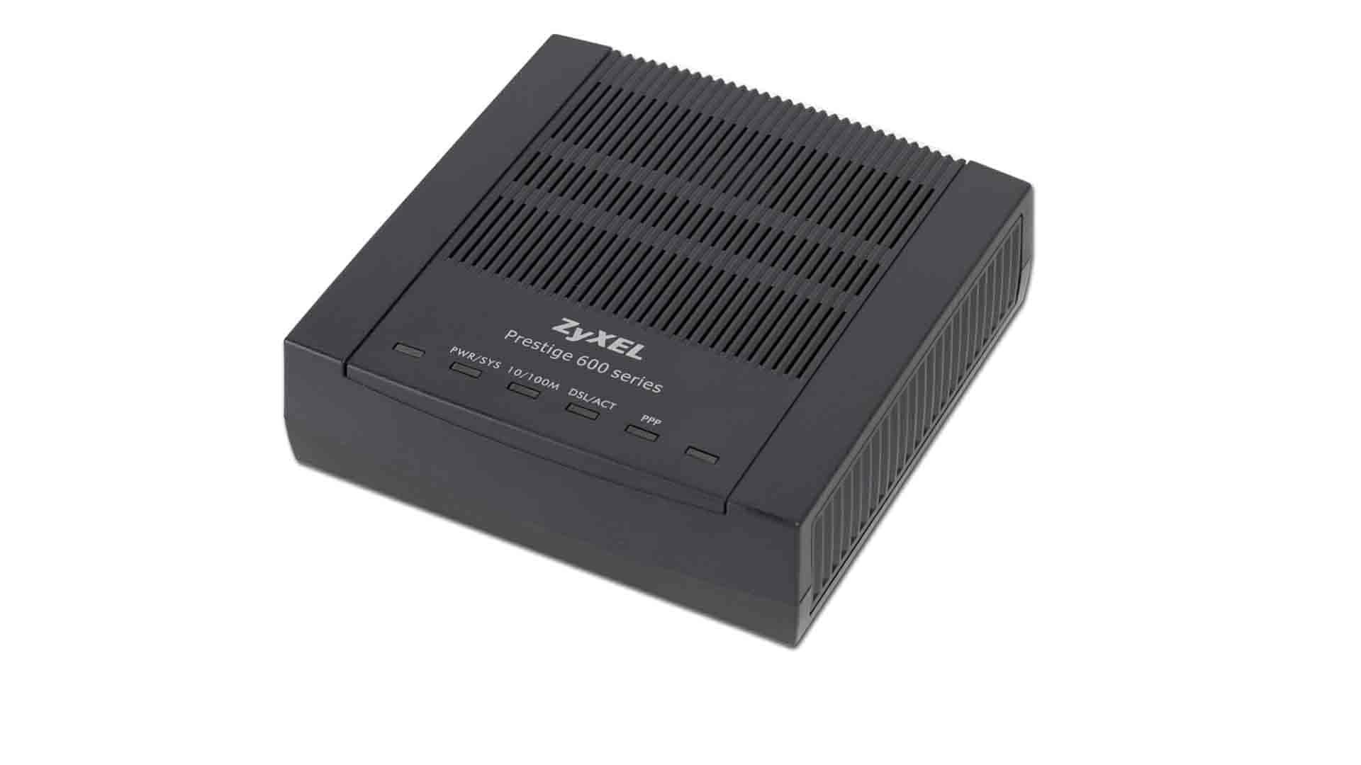 ADSL modem Zyxel P-660RT
