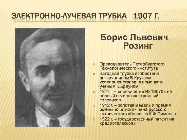Первые кинокамеры - Борис Розинг