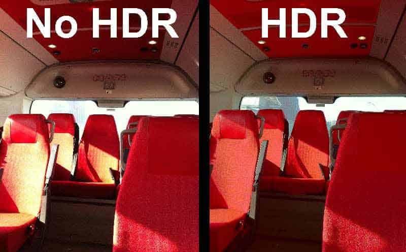 Что такое HDR камера