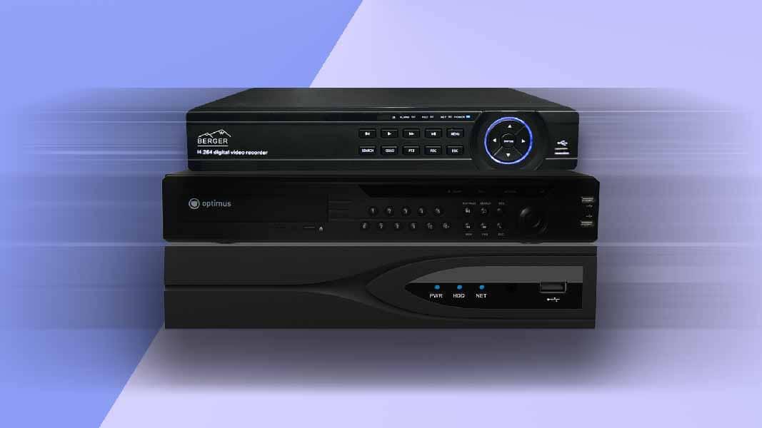 Виды и типы видеорегистраторов для видеонаблюдения