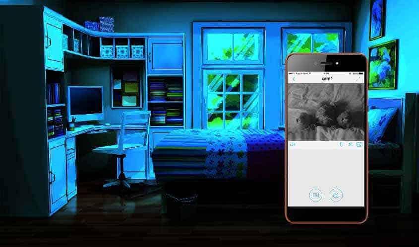 Видеонаблюдение для дома - ночное наблюдение