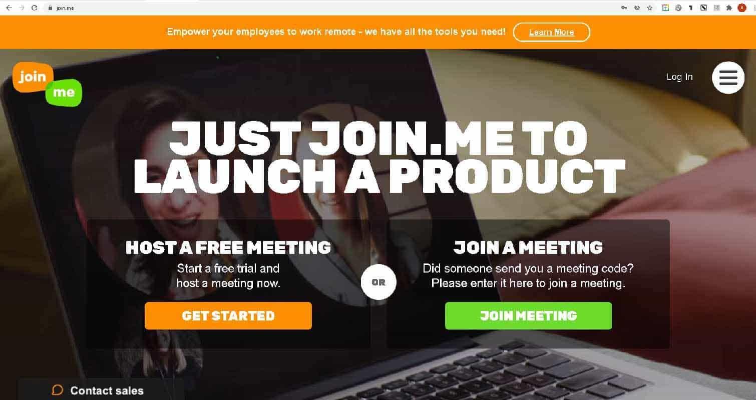 Join.me - видеоконференции для презентаций